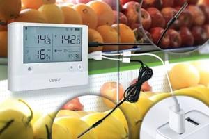 Automatyczna rejestracja temperatury wsupermarketach