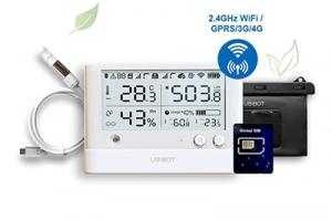 Rejestrator temperatury zpowiadomieniami SMS do szklarni