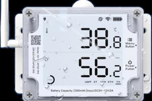 Rejestrator temperatury i wilgotności wifi