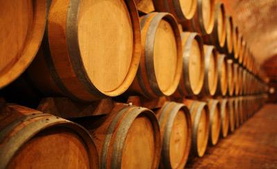 Temperatur- und Feuchtigkeitsmessung in einer Weinkellerei