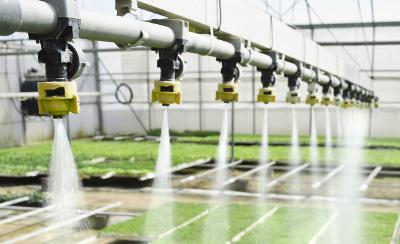 Messung von Temperatur, Feuchtigkeit und Beleuchtung in der Landwirtschaft