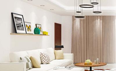 Überwachung von Temperatur, Feuchtigkeit und Beleuchtung in einem modernen Haus