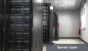 Monitorowanie temperatury i wilgotności w serwerowni