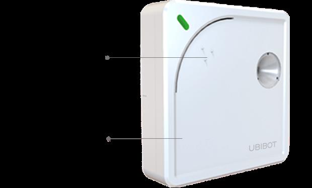 Registriergerät für Messungen von Temperatur, Feuchte und Licht WLAN - UbiBot WS1