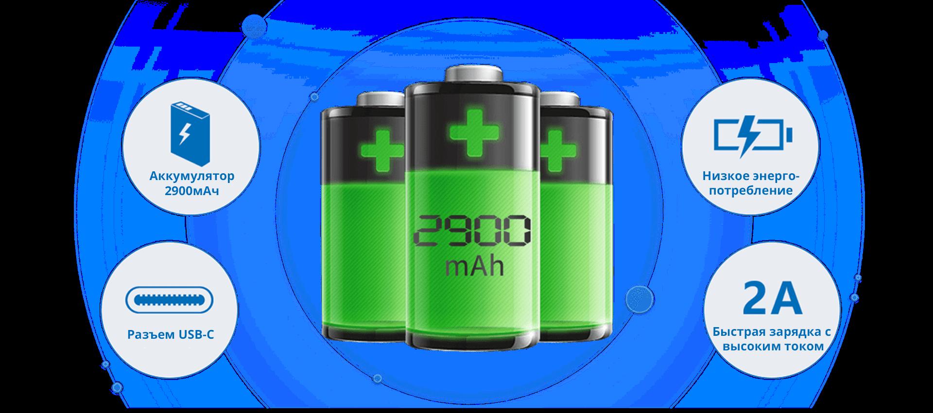 аккумулятор 2900mAh GS1